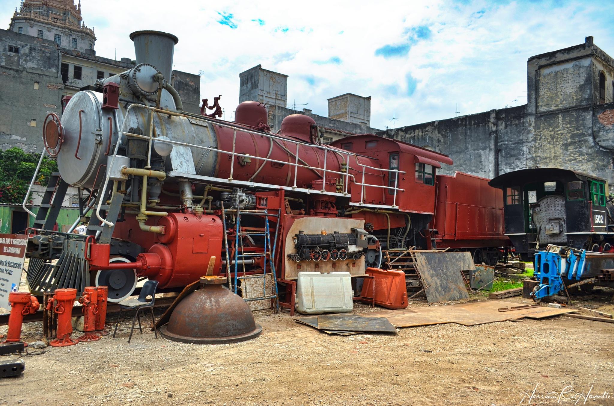 In The Restoration Yard by Harrison Hanville