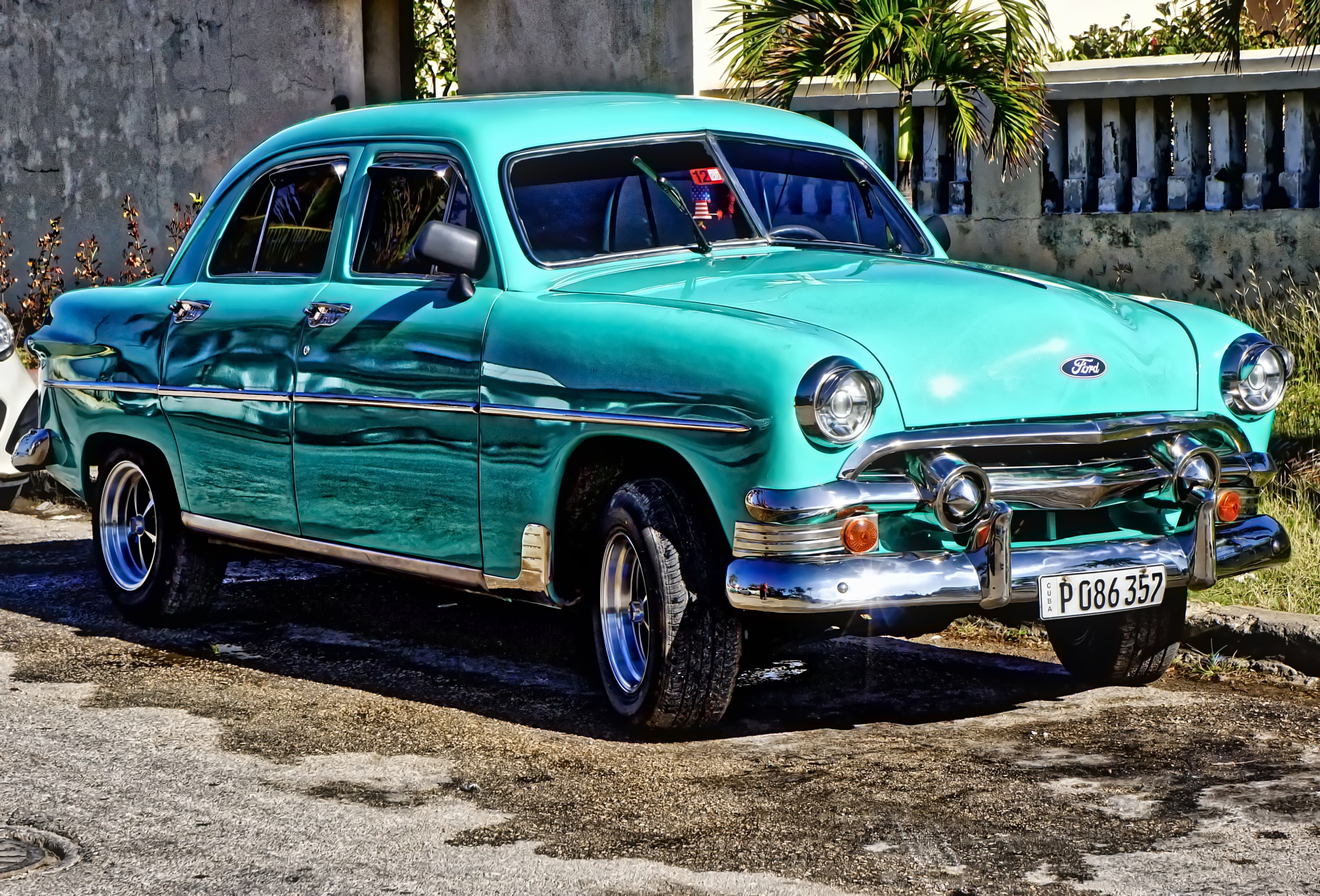 Green Ford by Harrison Hanville