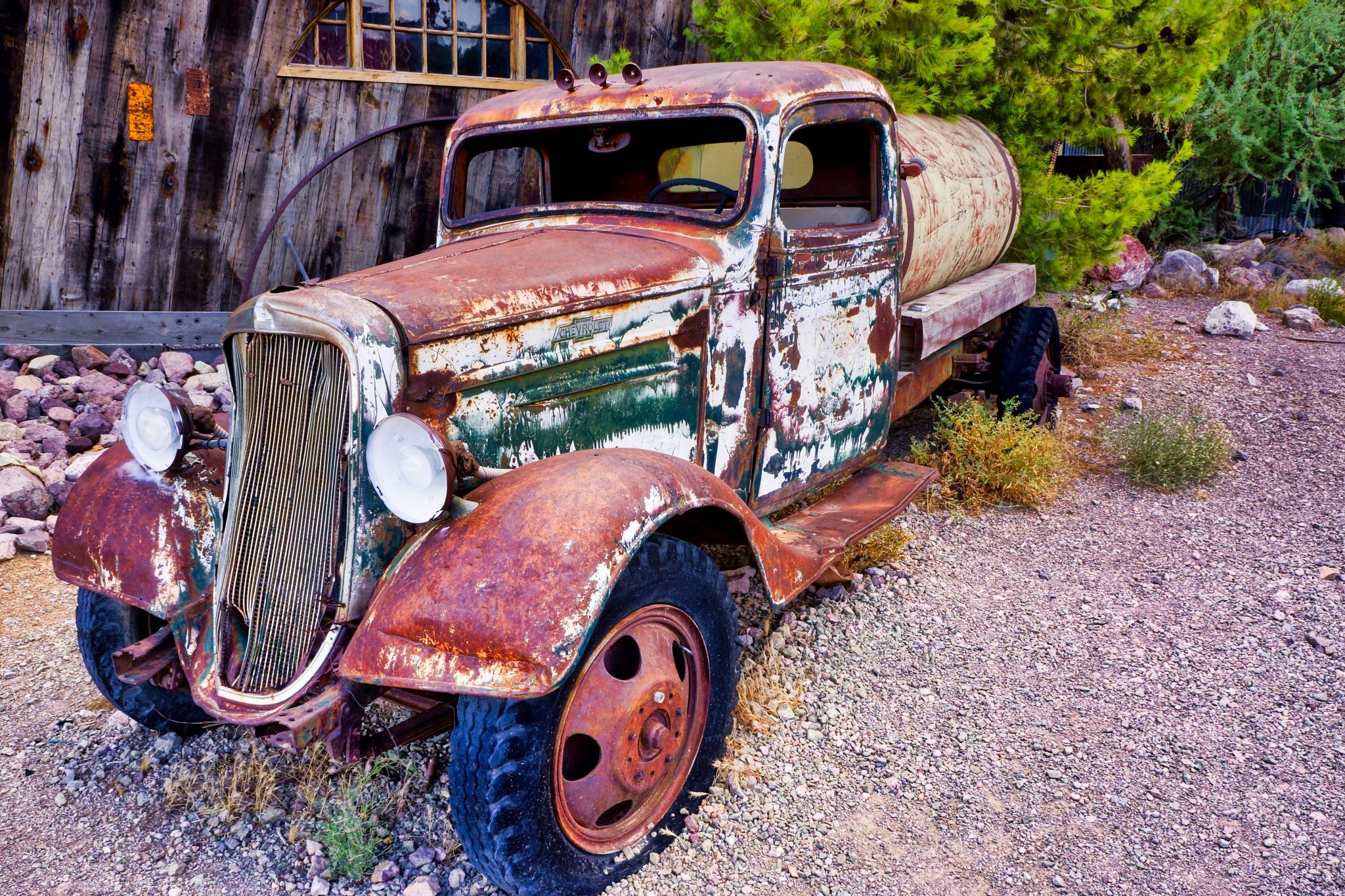 Chevy Water Truck by Harrison Hanville