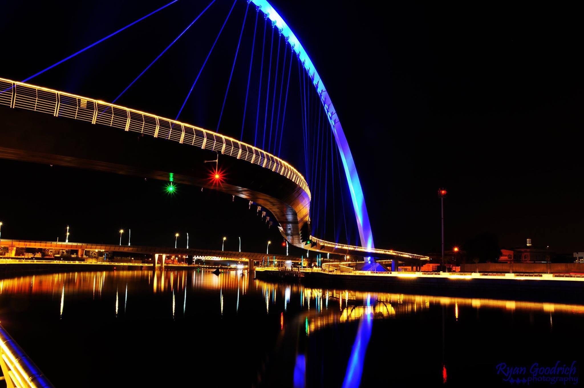 Under the bridge by  Ryan Goodrich
