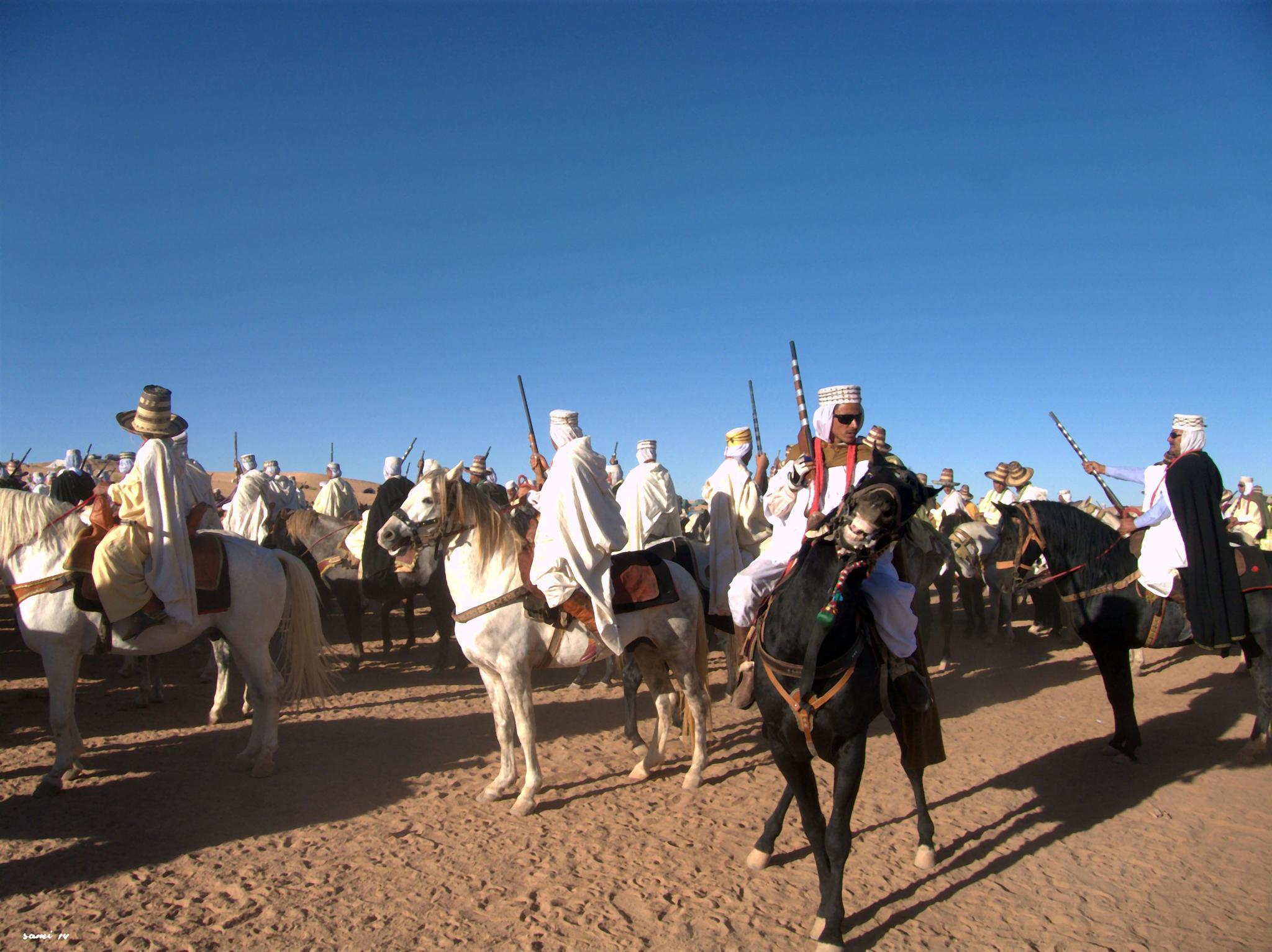 Riders in the fair. by Samir Sami