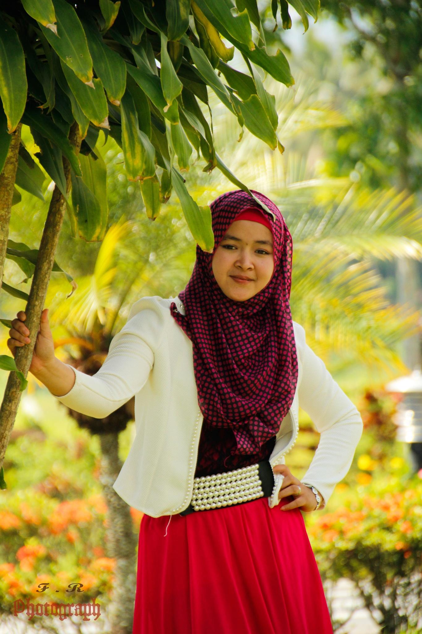 keep smile by Fajar Ramadhan