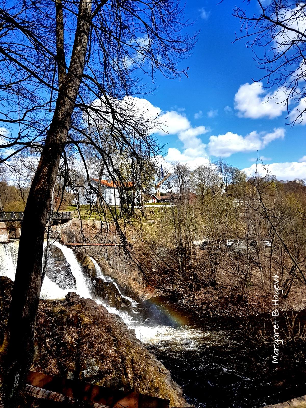 The waterfall by Margaret Brynildsen Hagevik