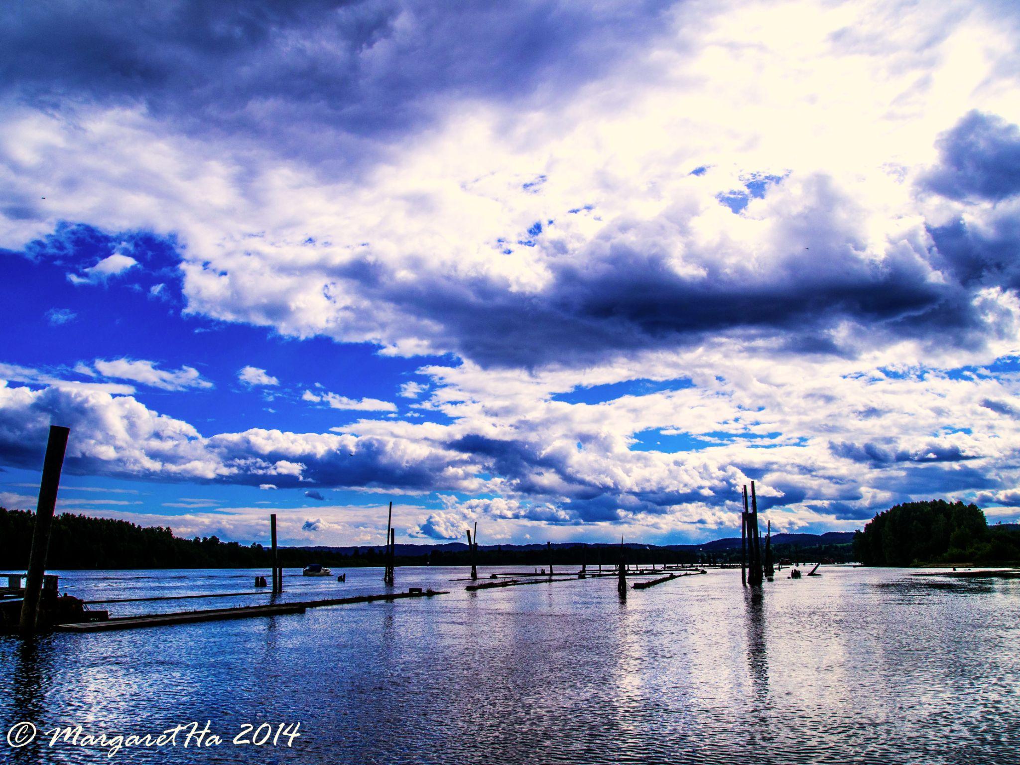 Skies. Water. by Margaret Brynildsen Hagevik