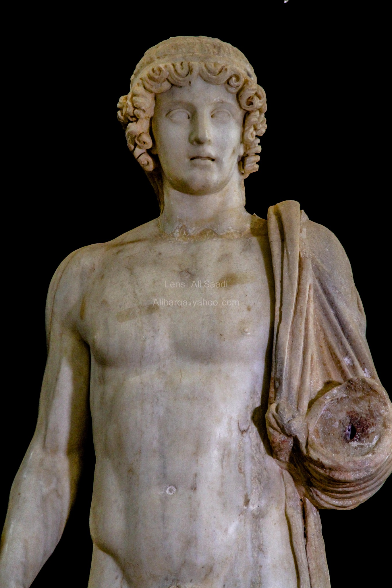 The God Apollo .City Cyrene  by al-Saadi