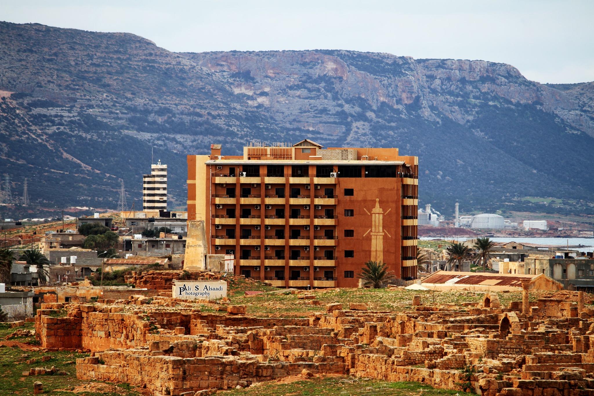 Apollonia / City Libya by al-Saadi