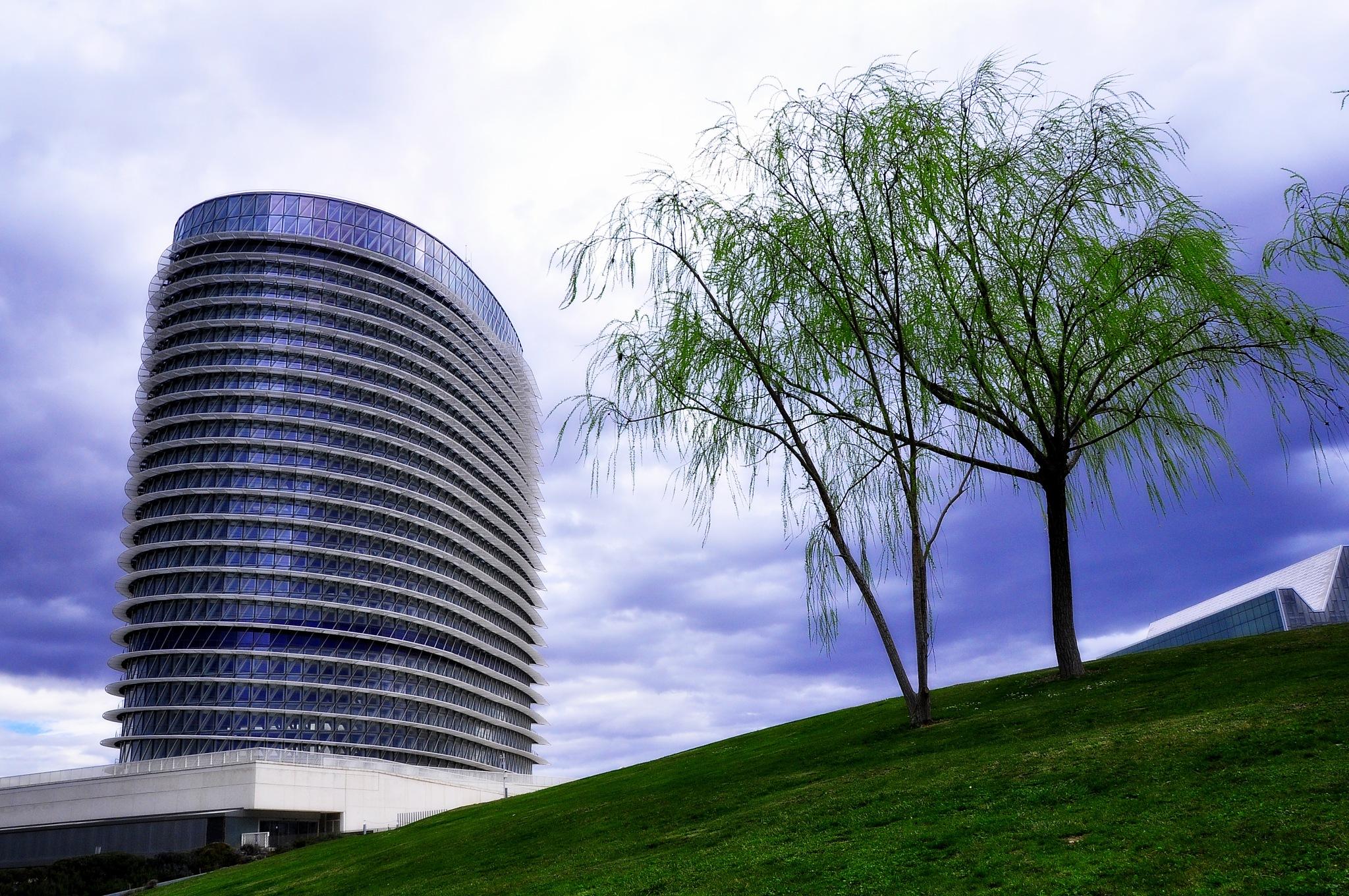 torre del agua zaragoza by angelgarcia