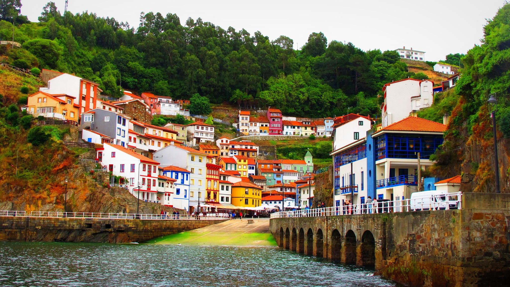 cudillero asturias by angelgarcia