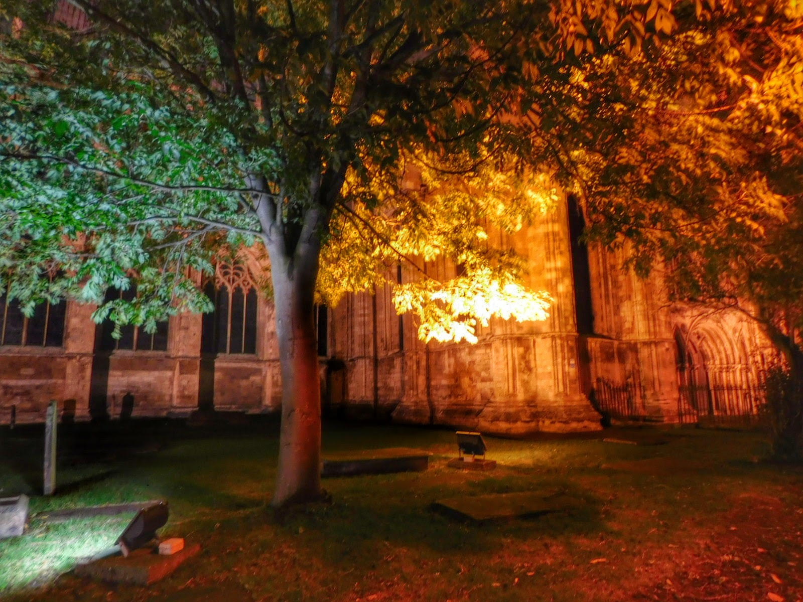 A recent evening walk round Beverley - my home town in the UK  by Sheila Button