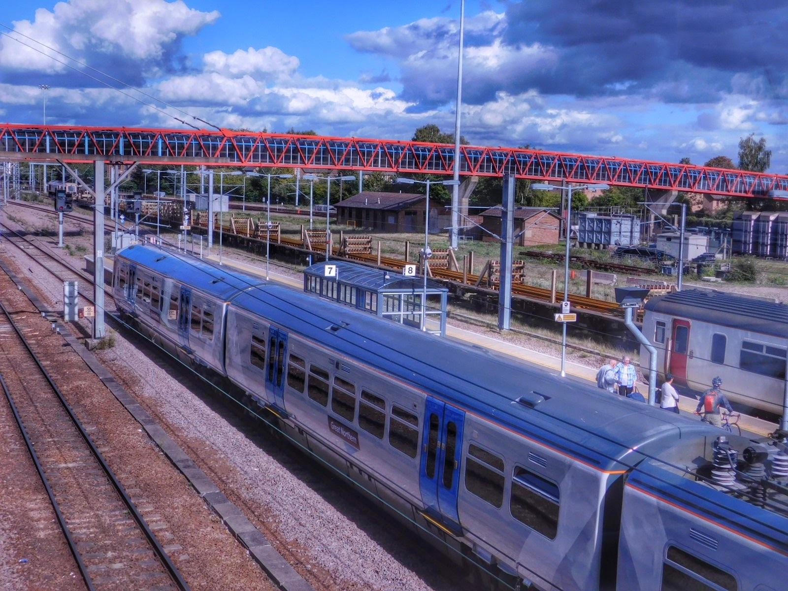 Cambridge Railway Station, UK by Sheila Button