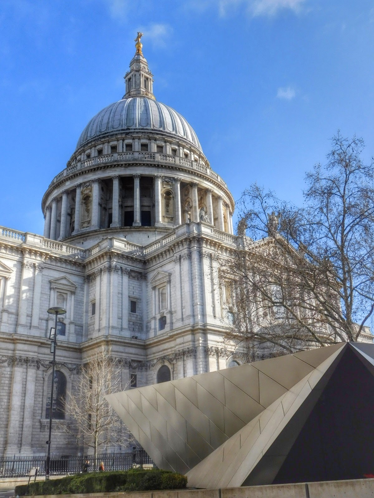 Easter Sunday, St Paul's Cathedral, London by Sheila Button