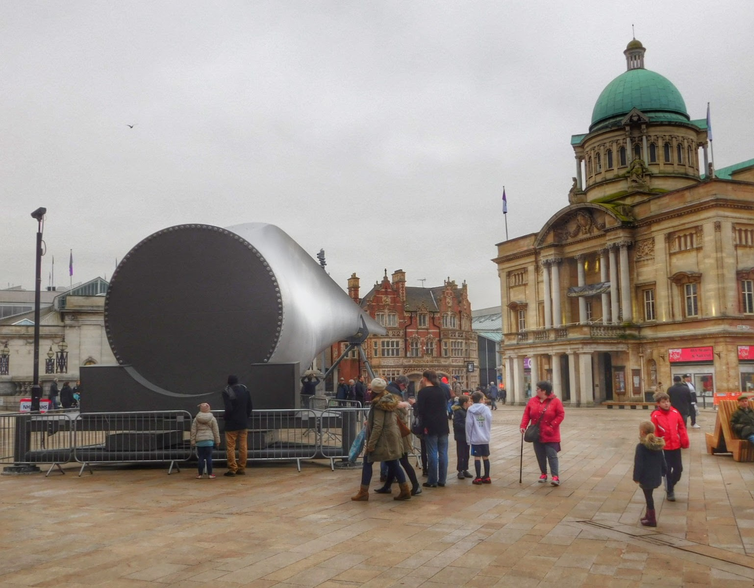 The Blade - HULL CITY OF CULTURE, UK by Sheila Button
