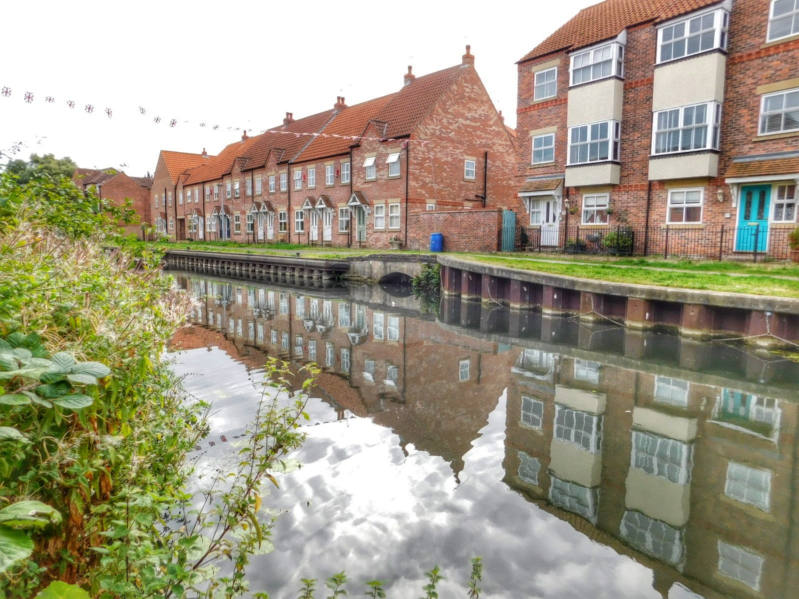 Beverley Beck, Sunday morning walk from home in Beverley, UK by Sheila Button