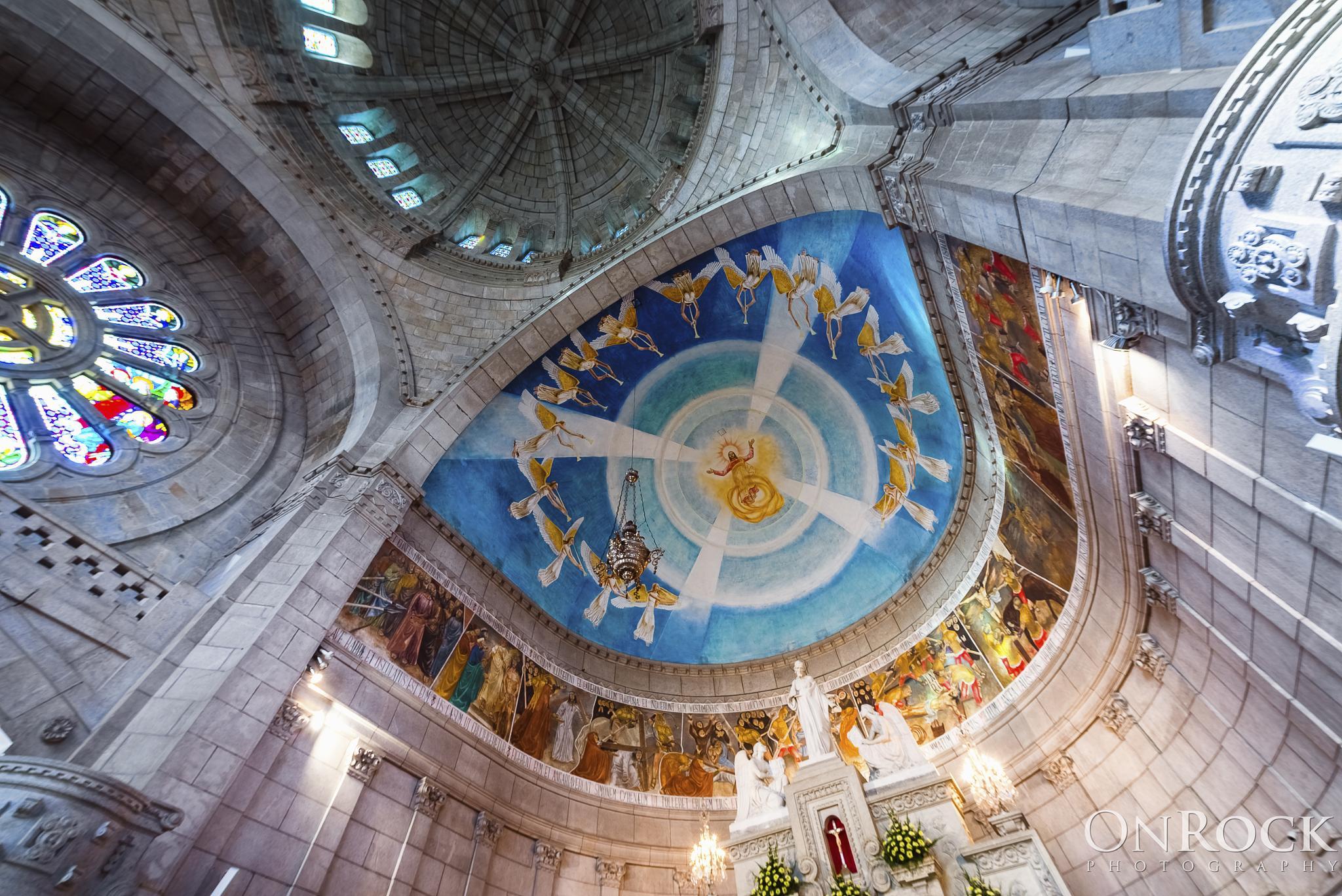 Photo in Architecture #portugal #minho #viana do castelo #europa #igreja #cupola #santuario #fescos