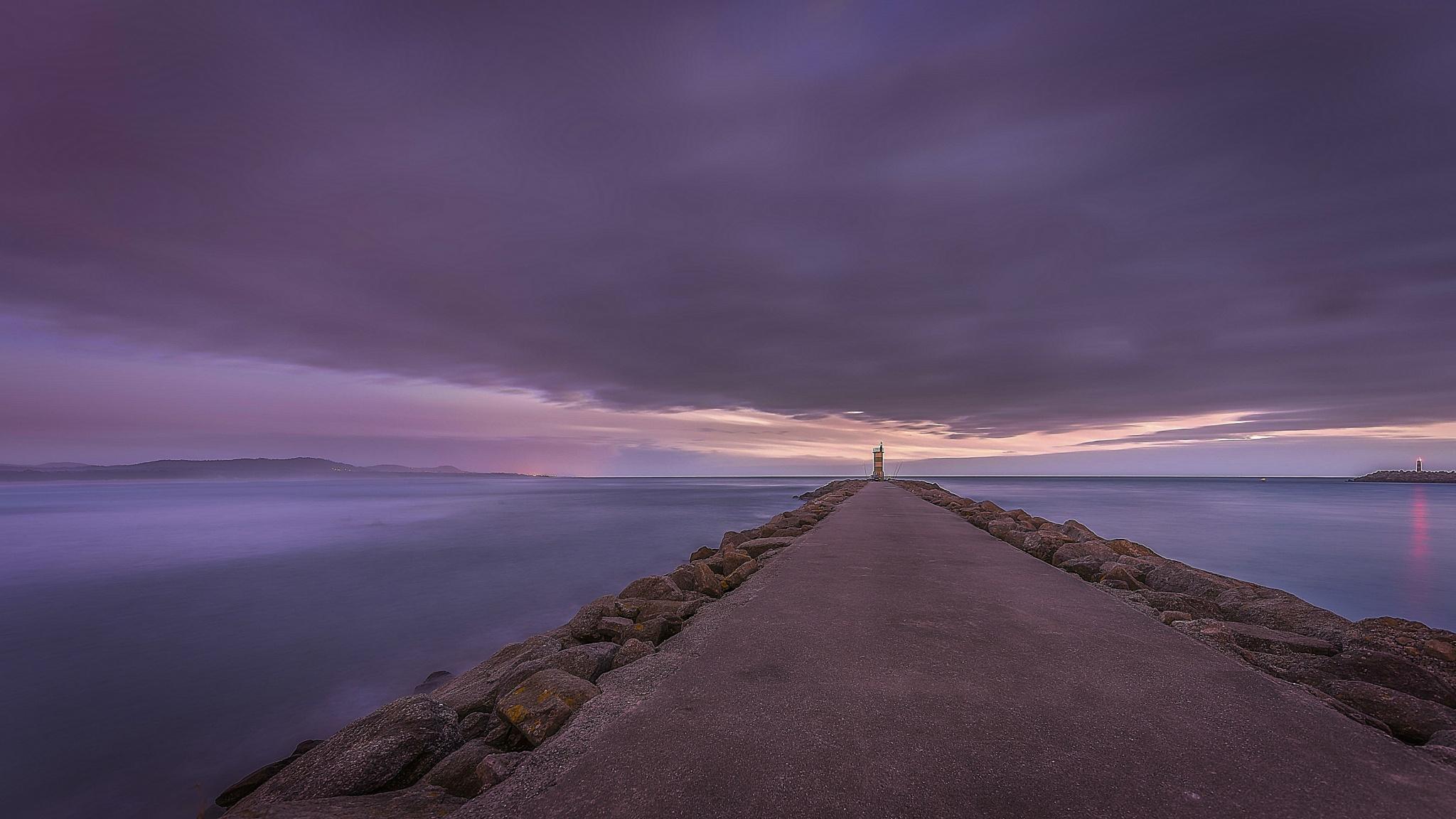 Seascape at the Blue Hour by OnRock Photography