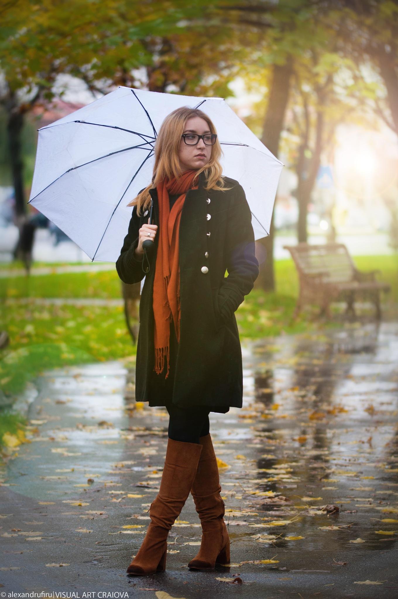 Singing in the rain by Alexandru Firu