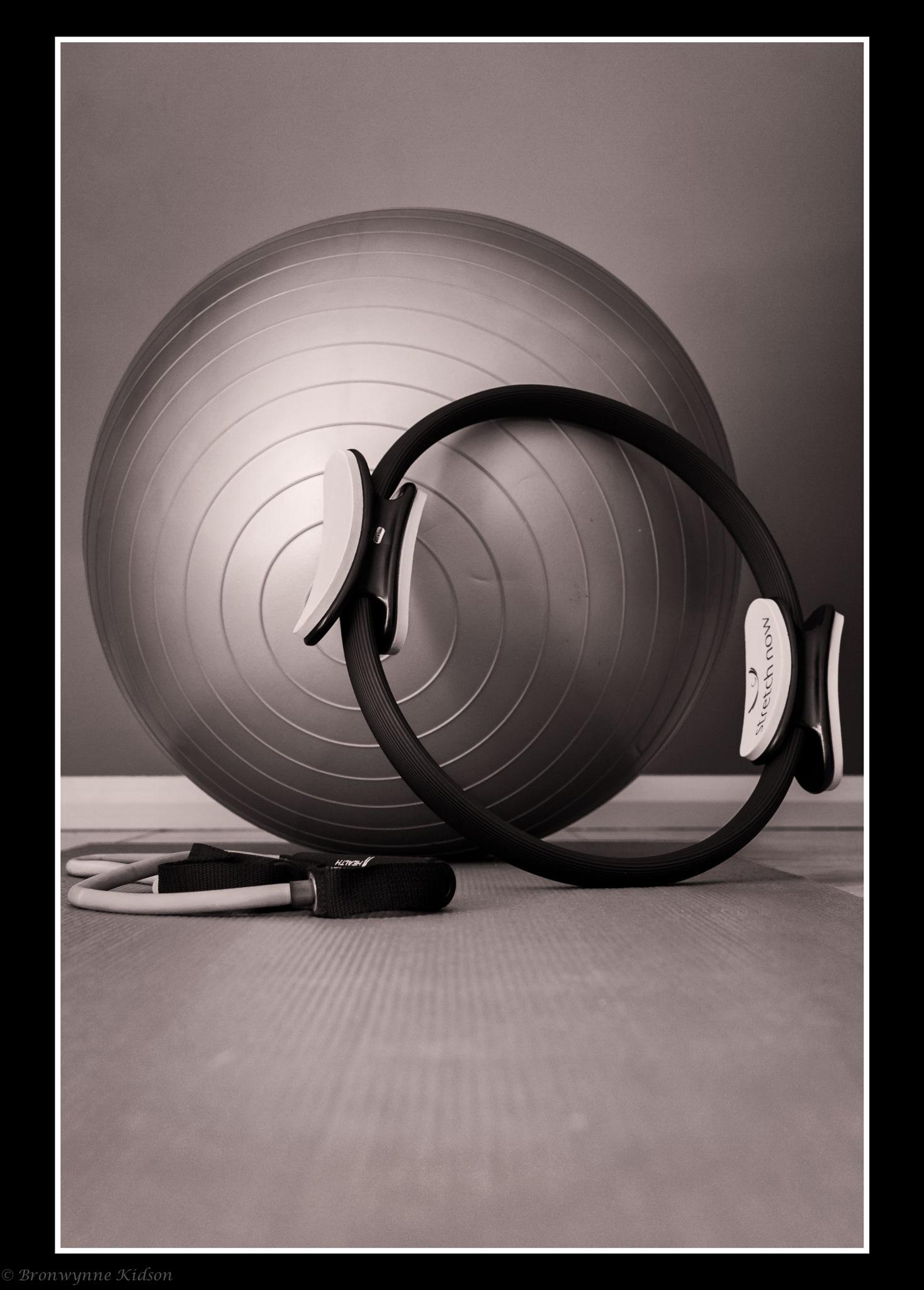 Pilates Anyone by Bronwynne Kidson