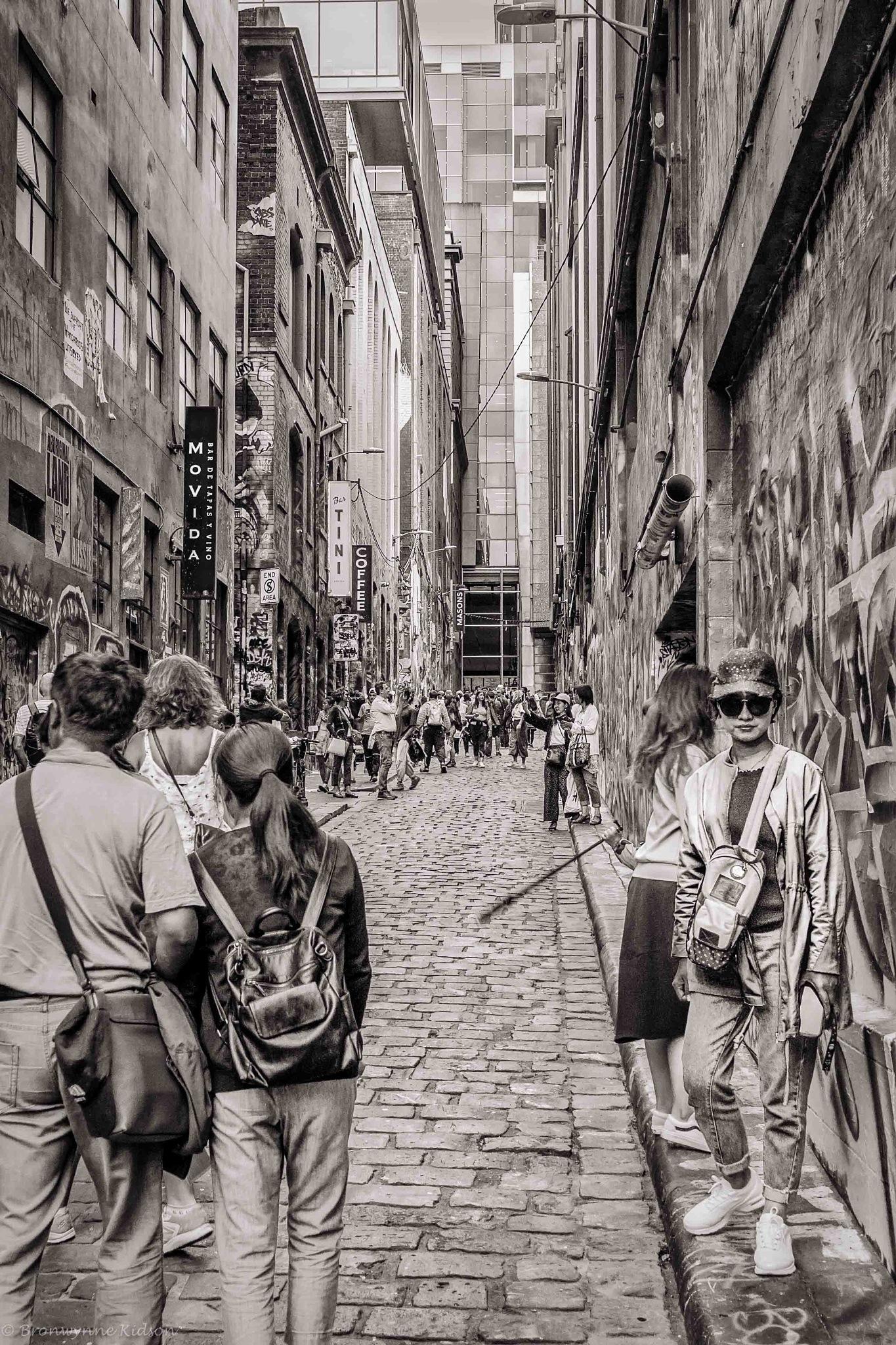 Hosier Lane by Bronwynne Kidson