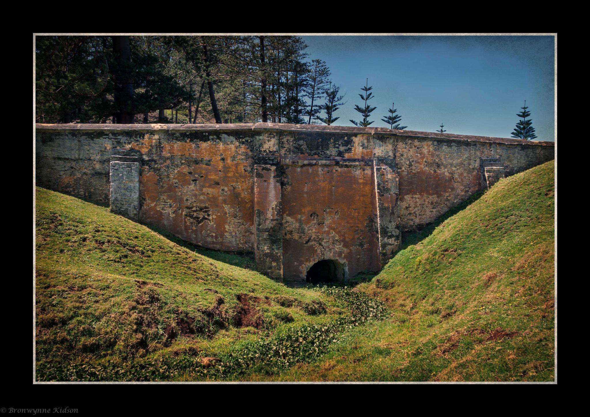Bloody Bridge, Norfolk Island by Bronwynne Kidson