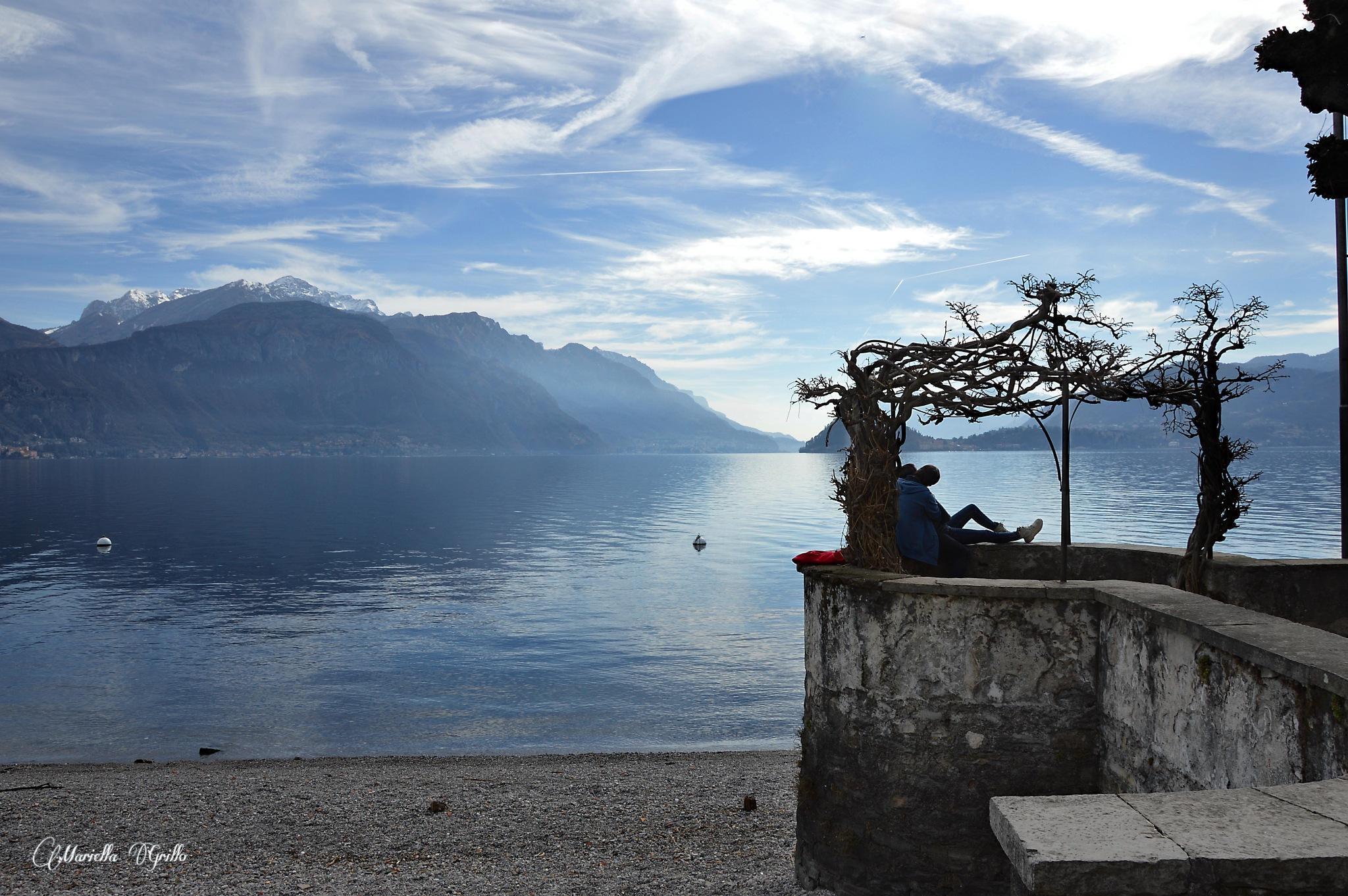 Menaggio.Como Lake by Mariella Grillo