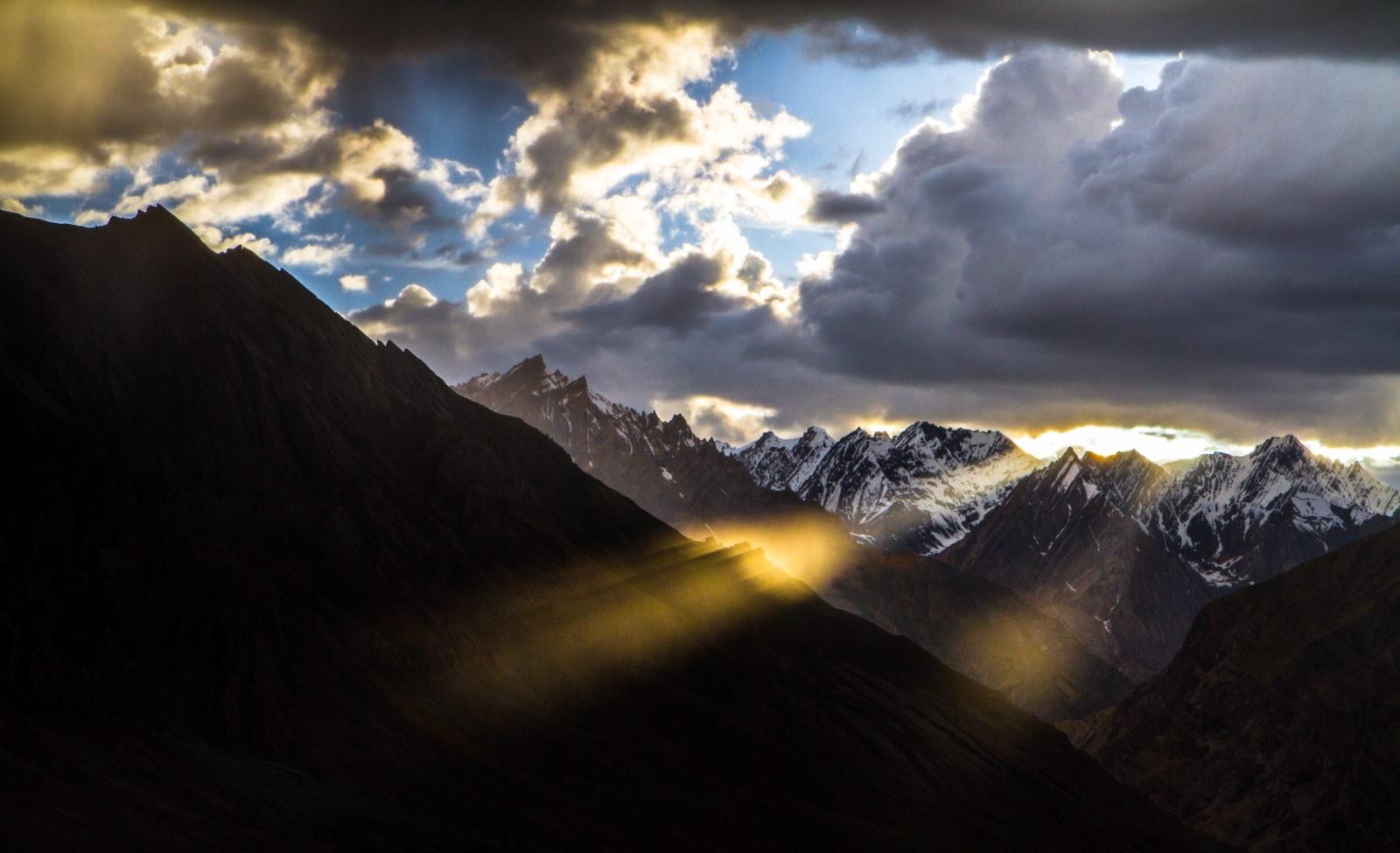 Mountain Fire by Dhruva Suresh