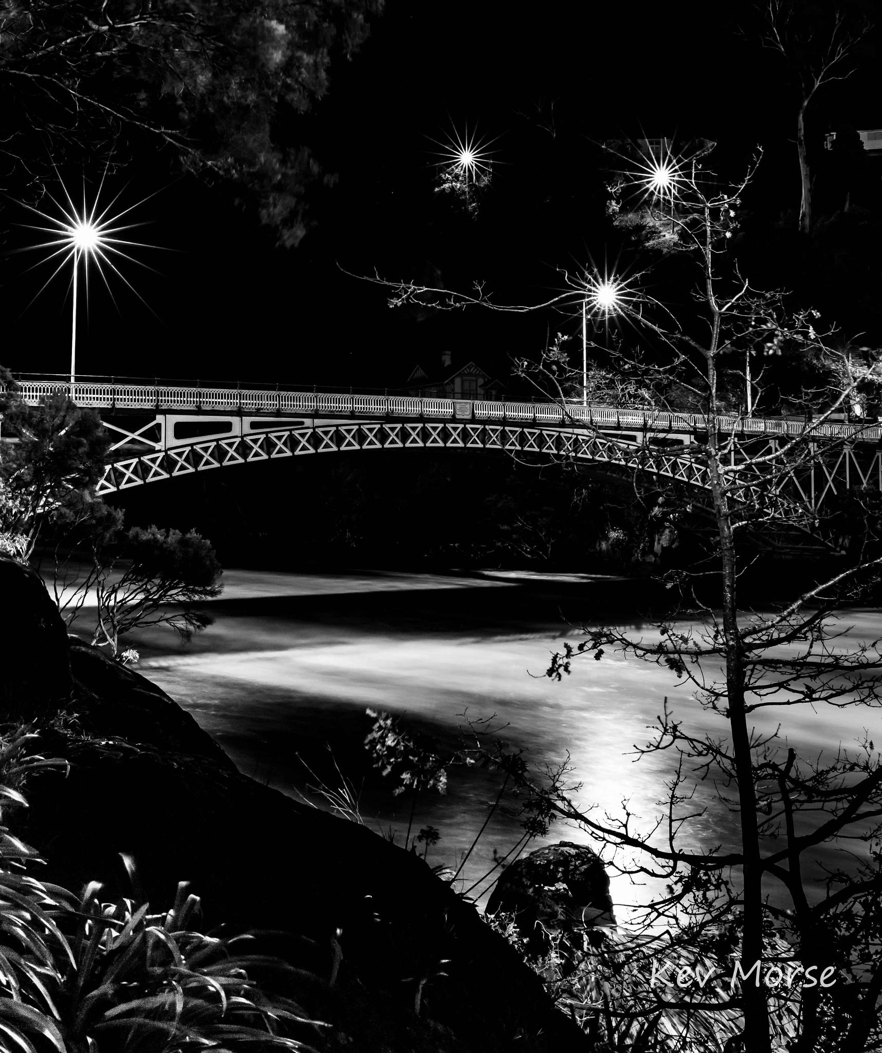 Kings Bridge, Launceston, Tasmania by Kev Morse