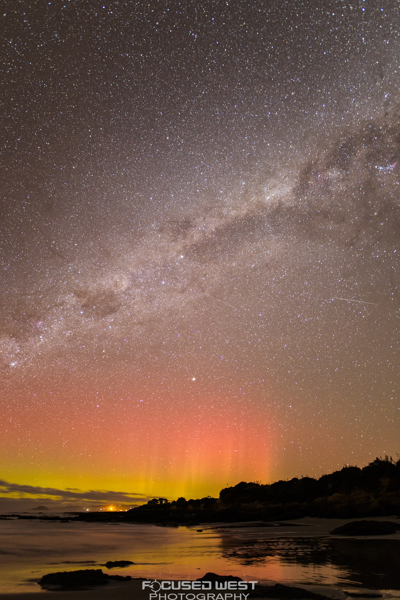 Kuri Bush Aurora by Gareth West