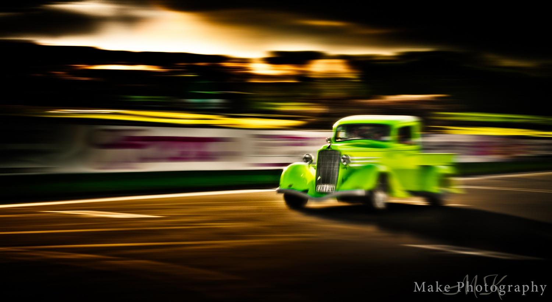 Green Speedster by MikeGannaway