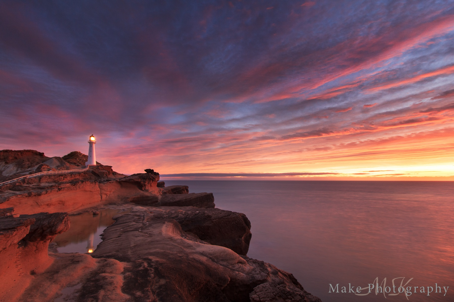 Red Sky by MikeGannaway