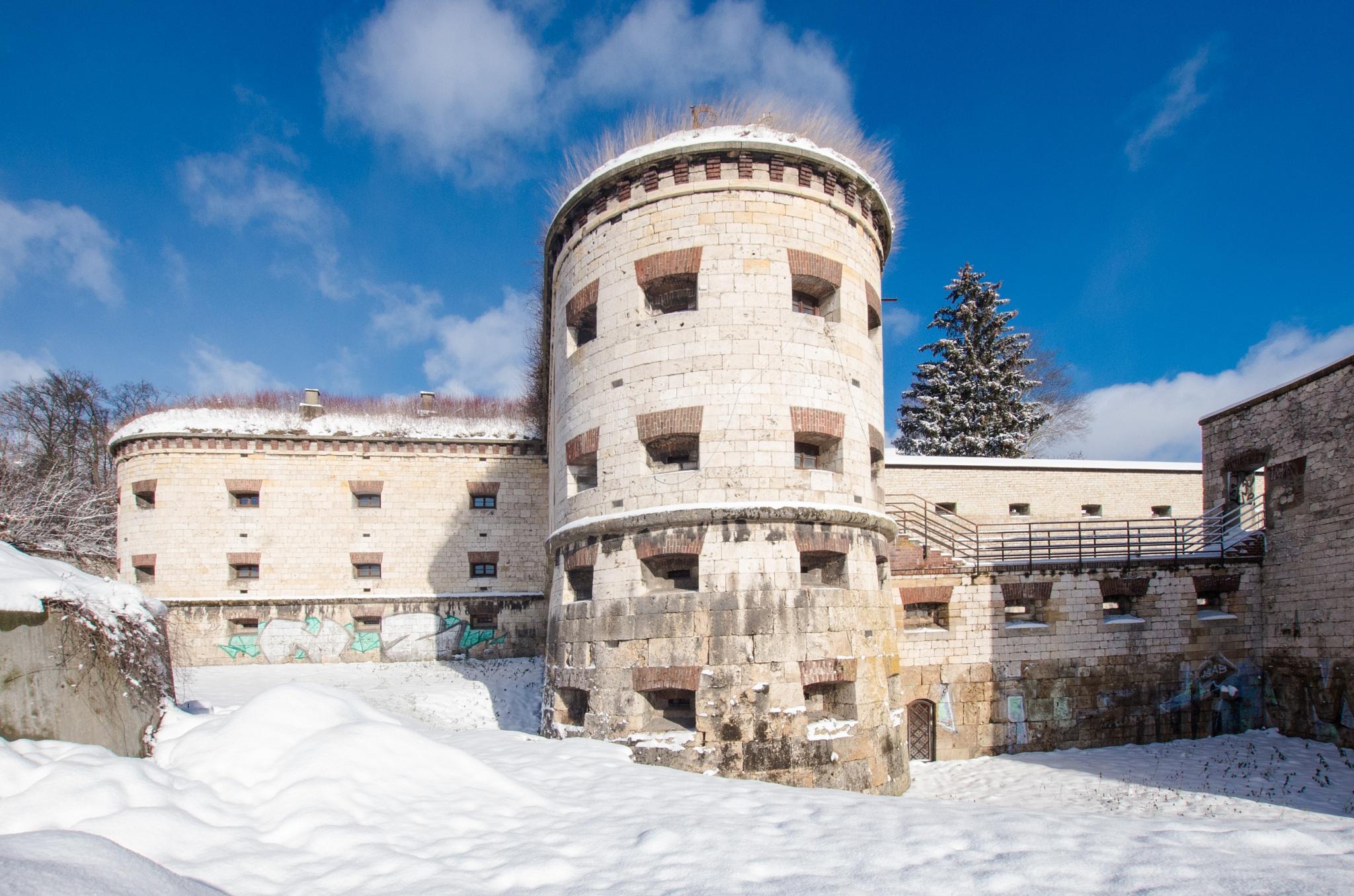 Kienlesberg bastion in winter by Michael Vogt