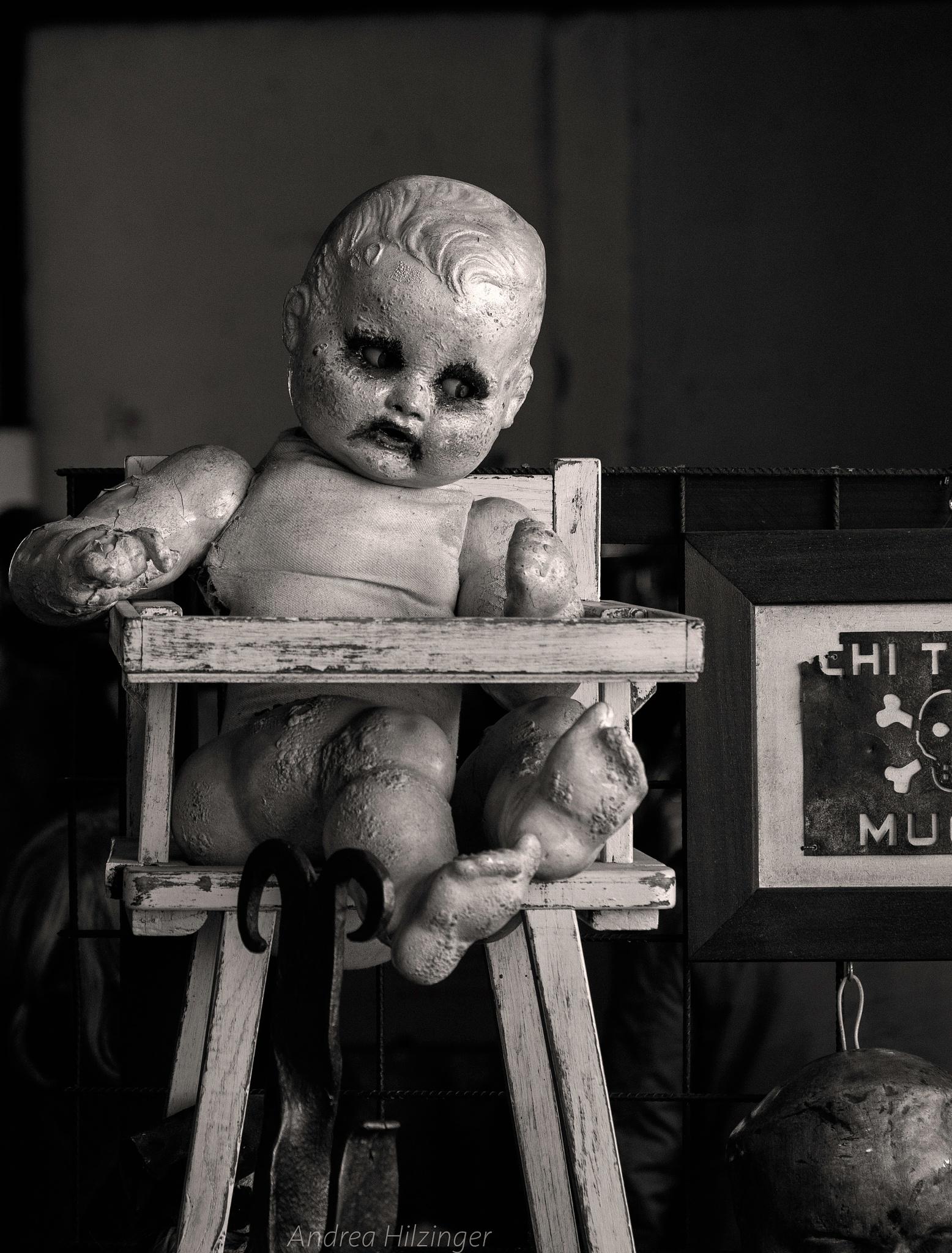 doll by Andrea Hilzinger