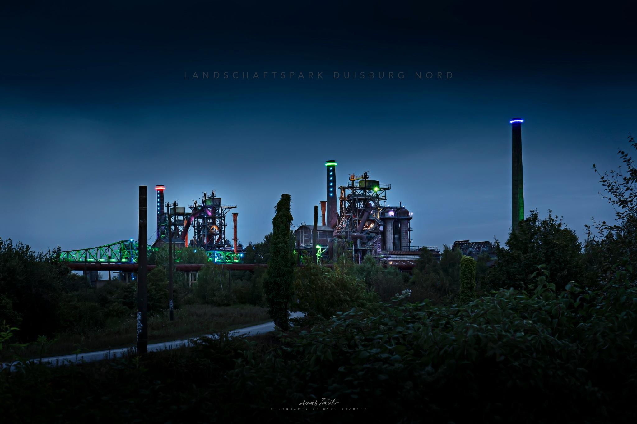 Photo in Industrial #duisburg #nrw #ruhrgebiet #ruhrpott #germany #deutschland #landschaftspark #licht