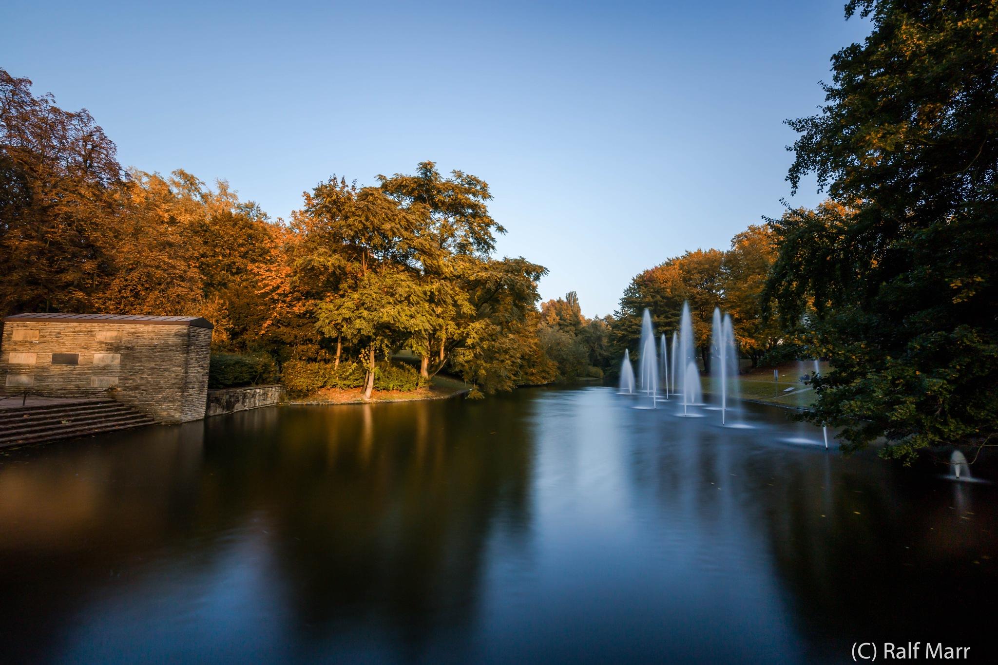 Stadtpark in Bochum... by Ralf Marr