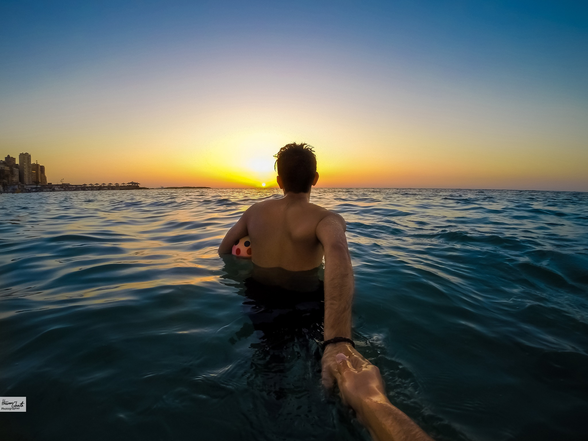 Follow Me to the Beach by Hossam Ahmed Ghaith
