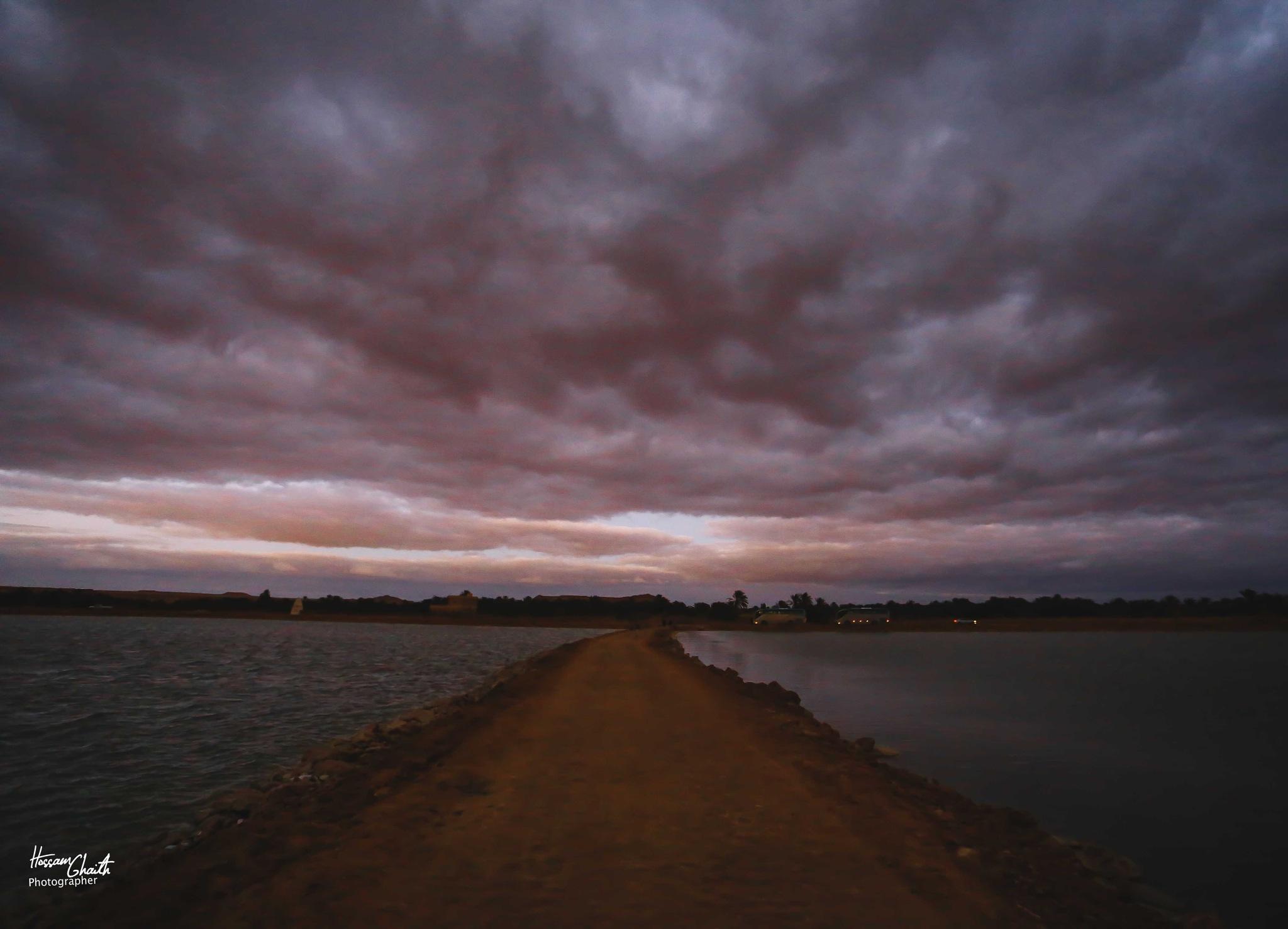 Sunset Island by Hossam Ahmed Ghaith
