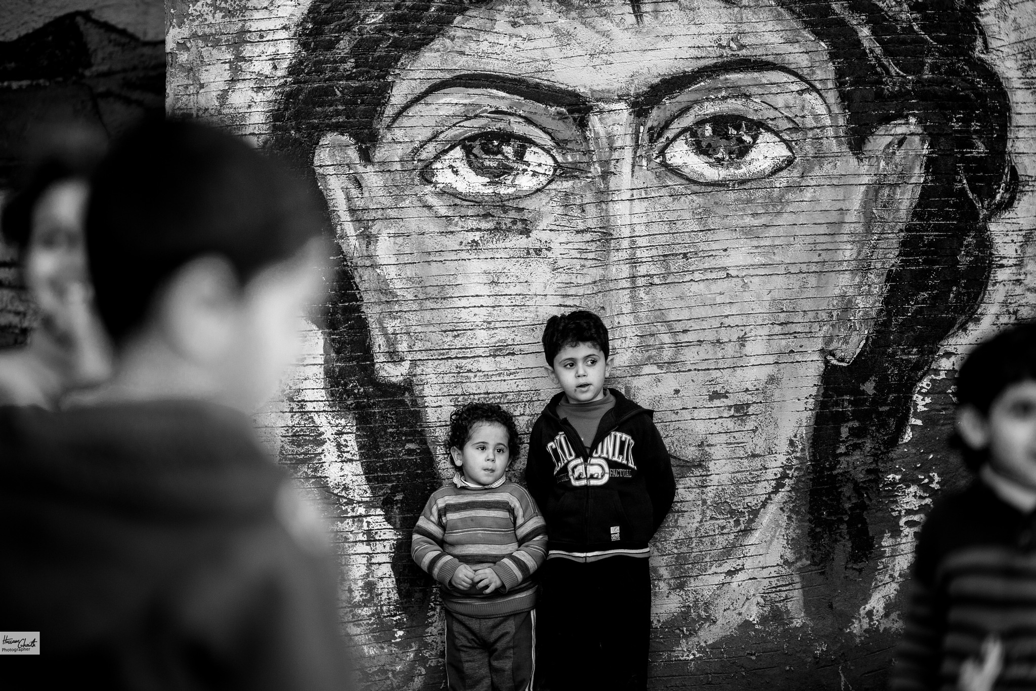 Eyes can say more than the mouth by Hossam Ahmed Ghaith