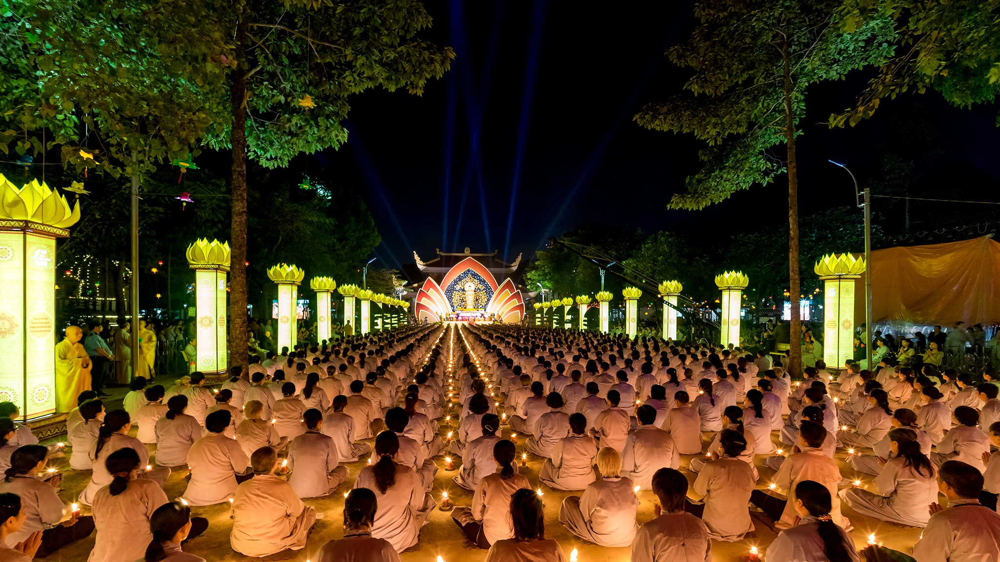 Hoang Phap pagoda festival 2016, HoChiMinh Cty, VietNam by phonghoa