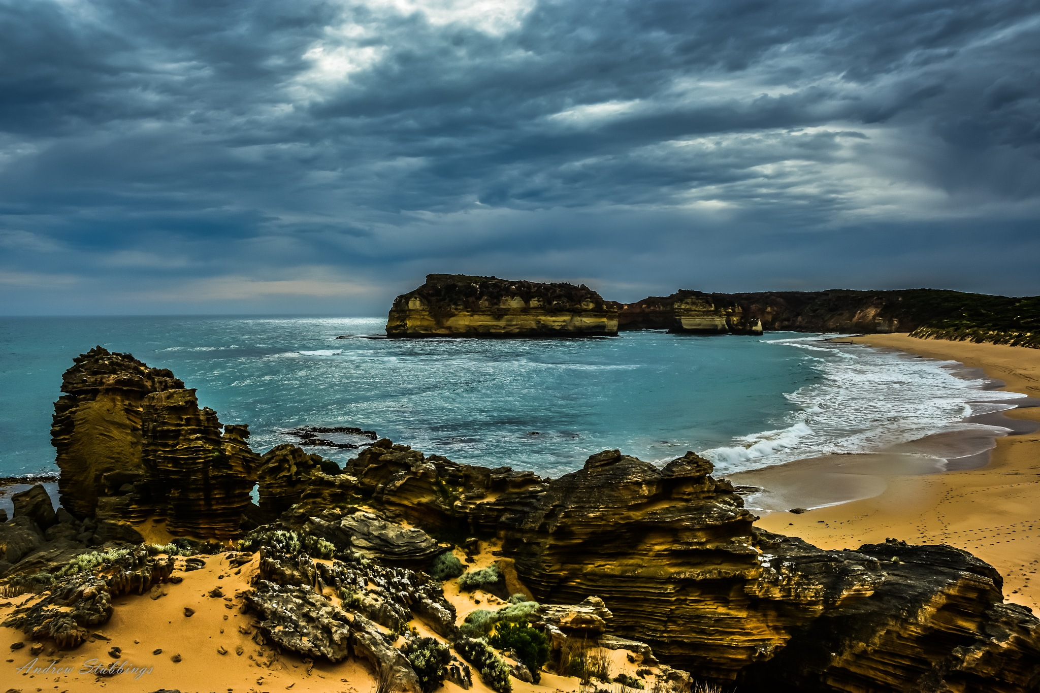 Sandy Cove by Andrew Stubbings