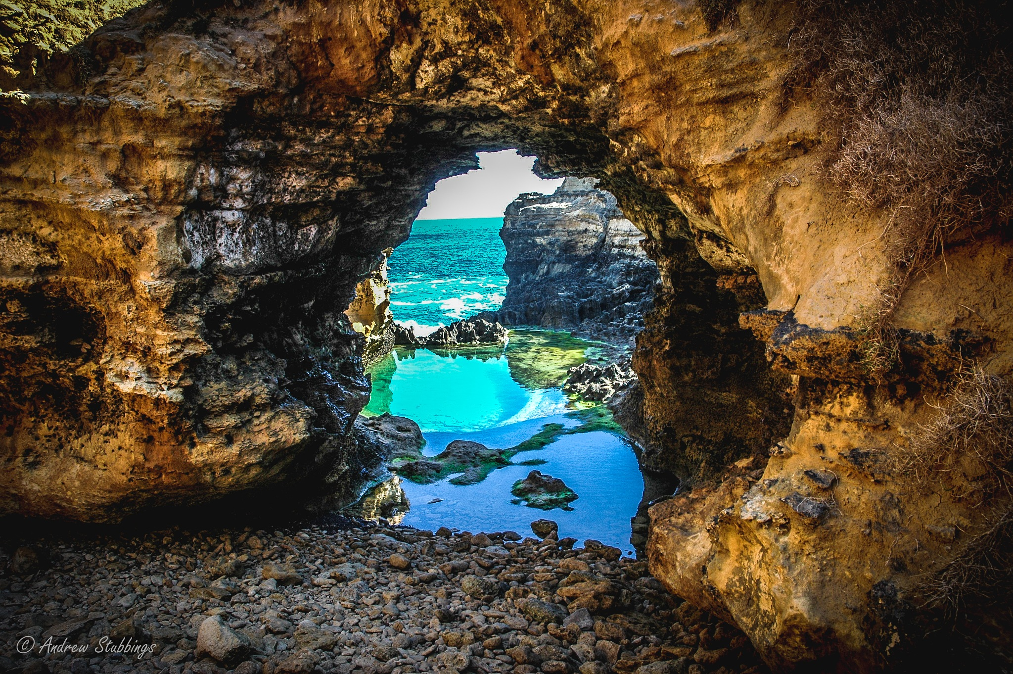 The Grotto by Andrew Stubbings
