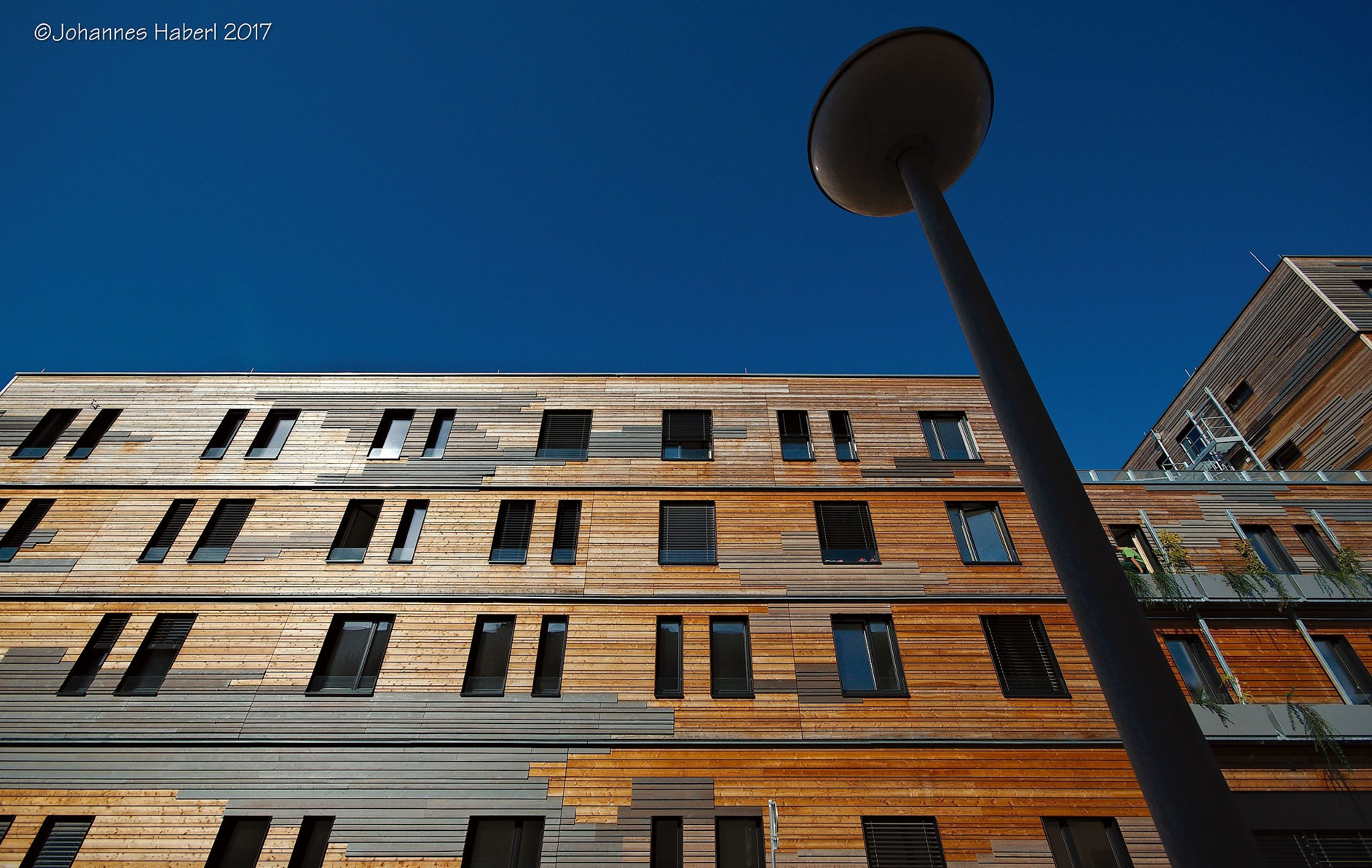 wooden facade III by Johannes Haberl
