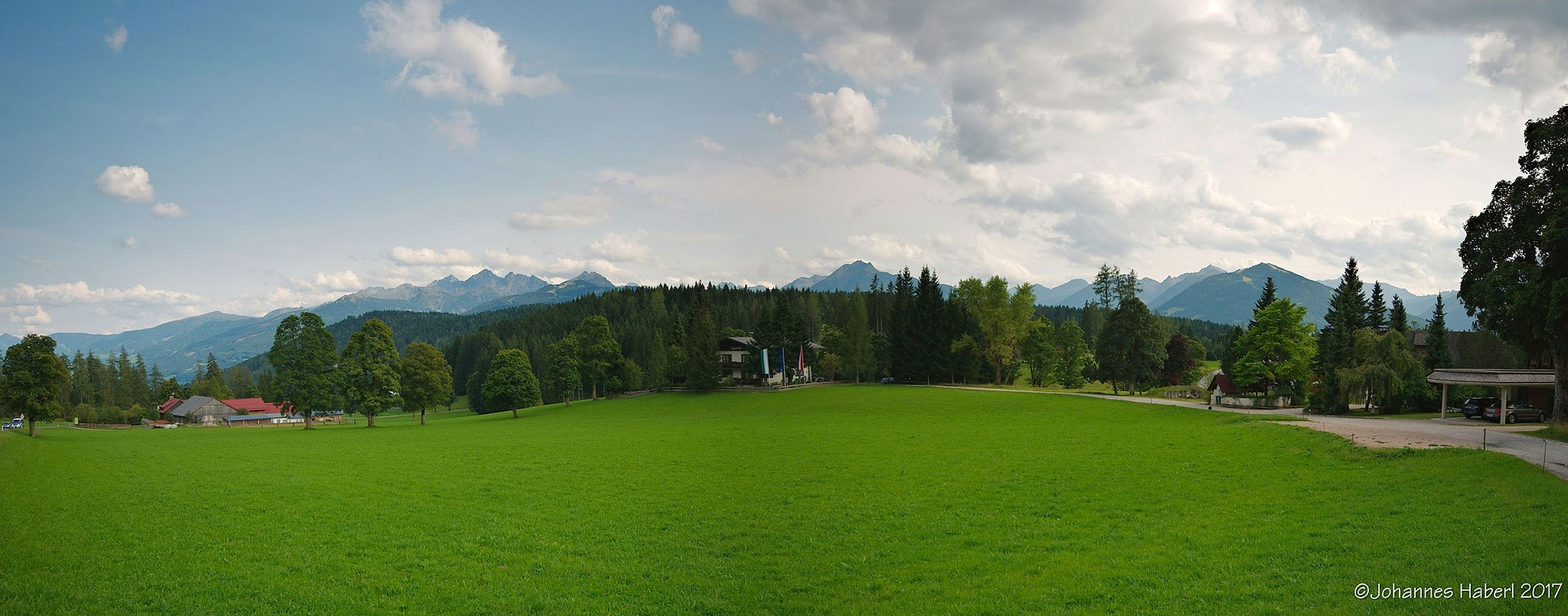 Ramsau - view to the south  by Johannes Haberl