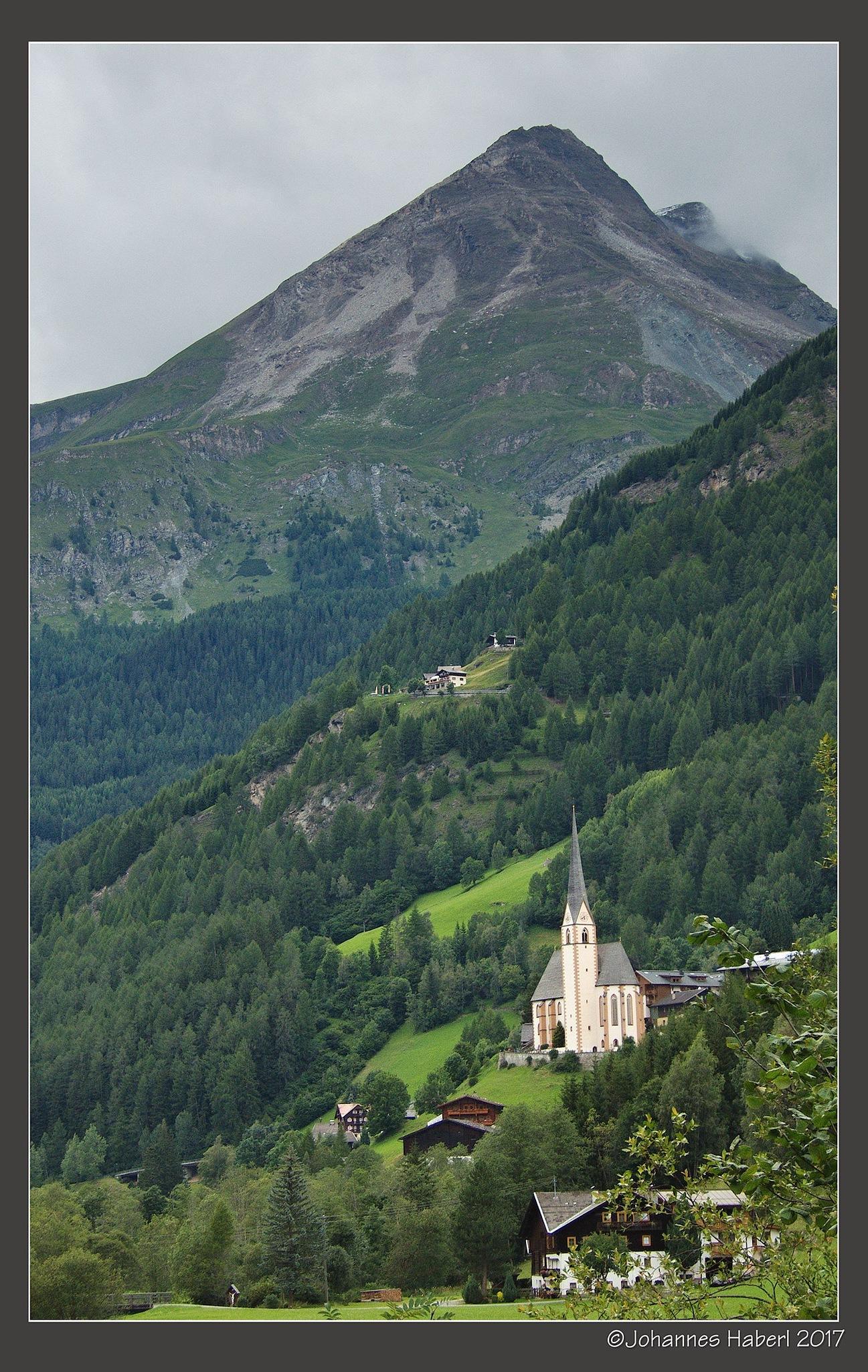 church Heiligenblut by Johannes Haberl