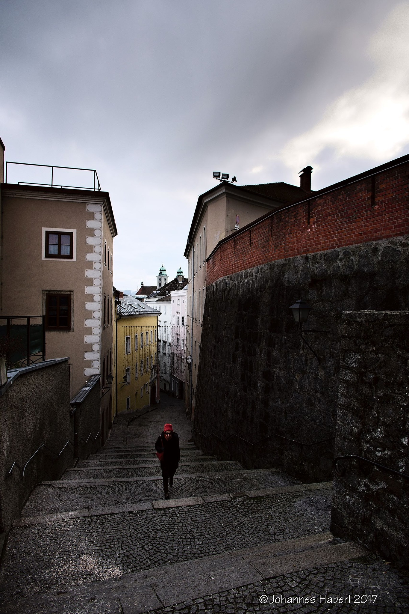 up to the castle VII / high contrast by Johannes Haberl