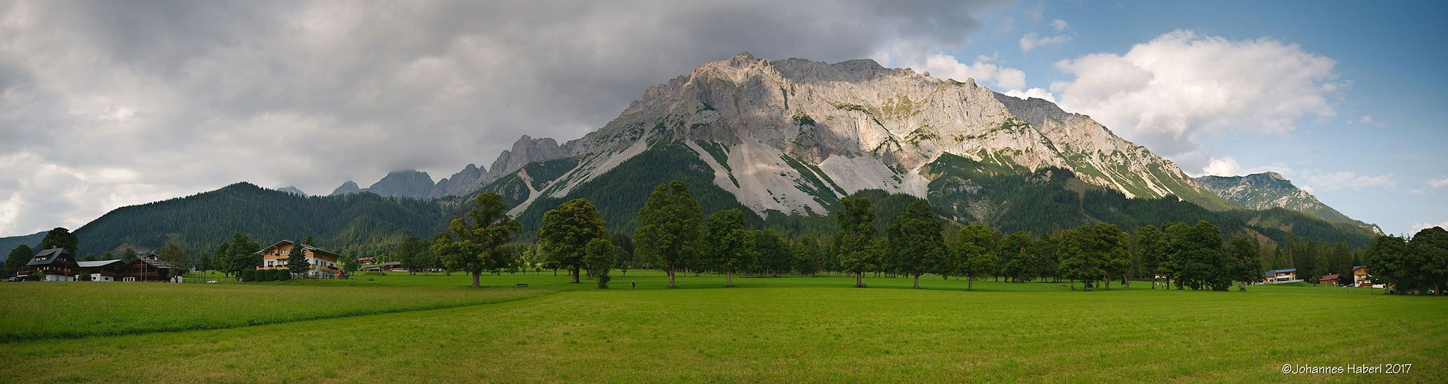 Ramsau - view to the north by Johannes Haberl