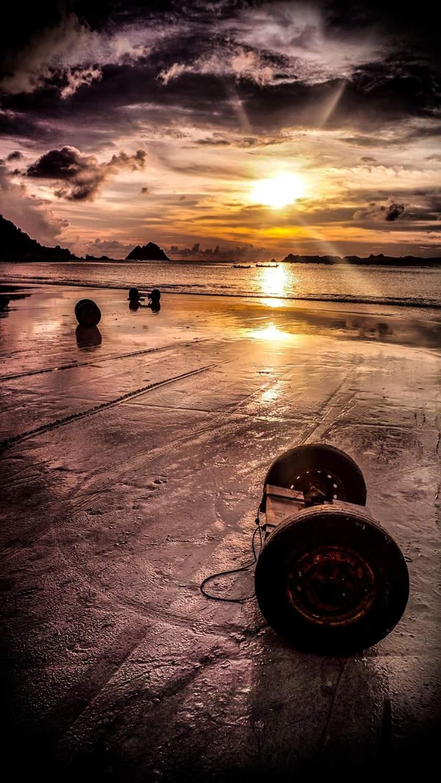 sunset by farhanayyubi