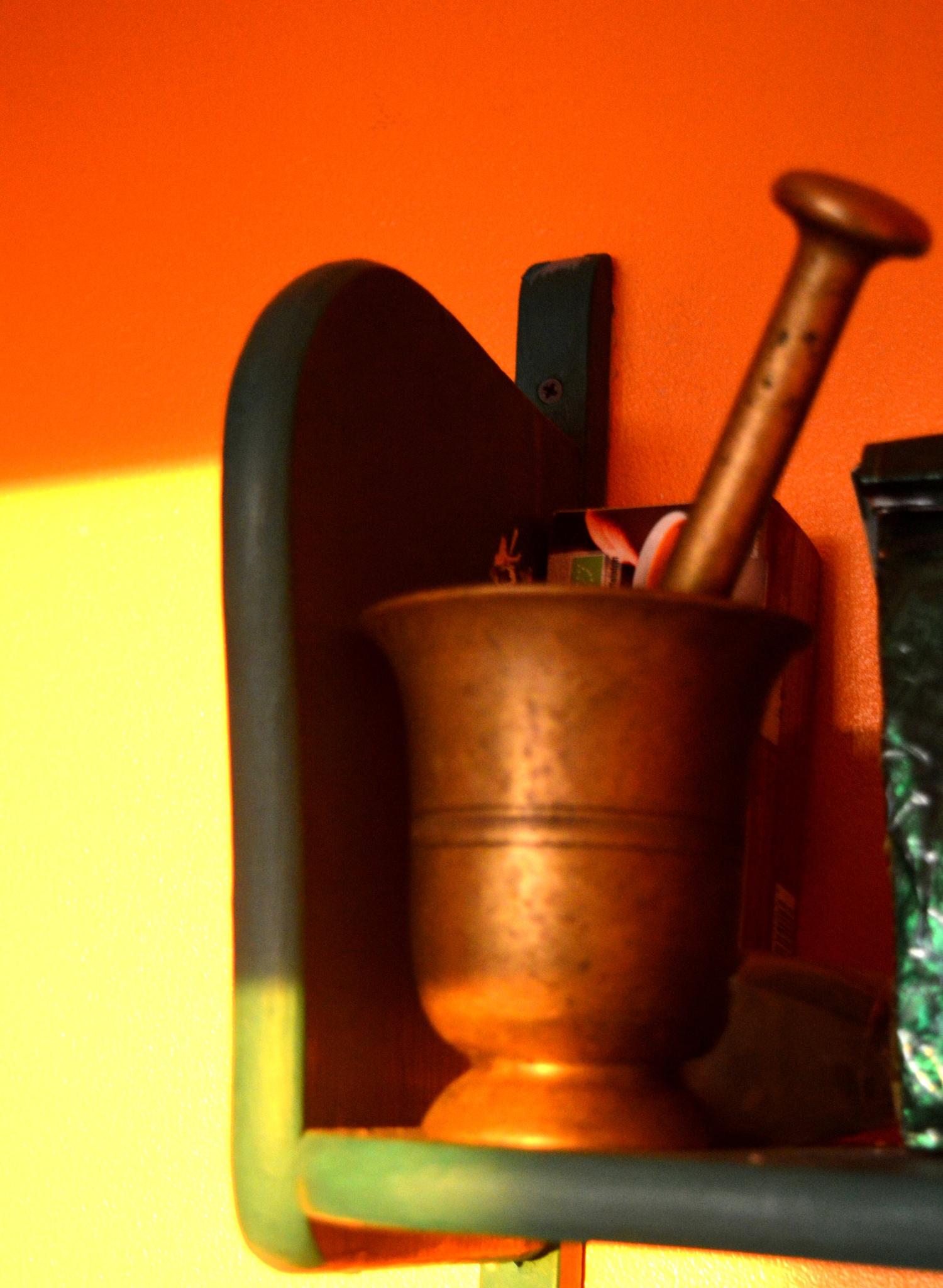 In my kitcshen by Tea-mari Brax