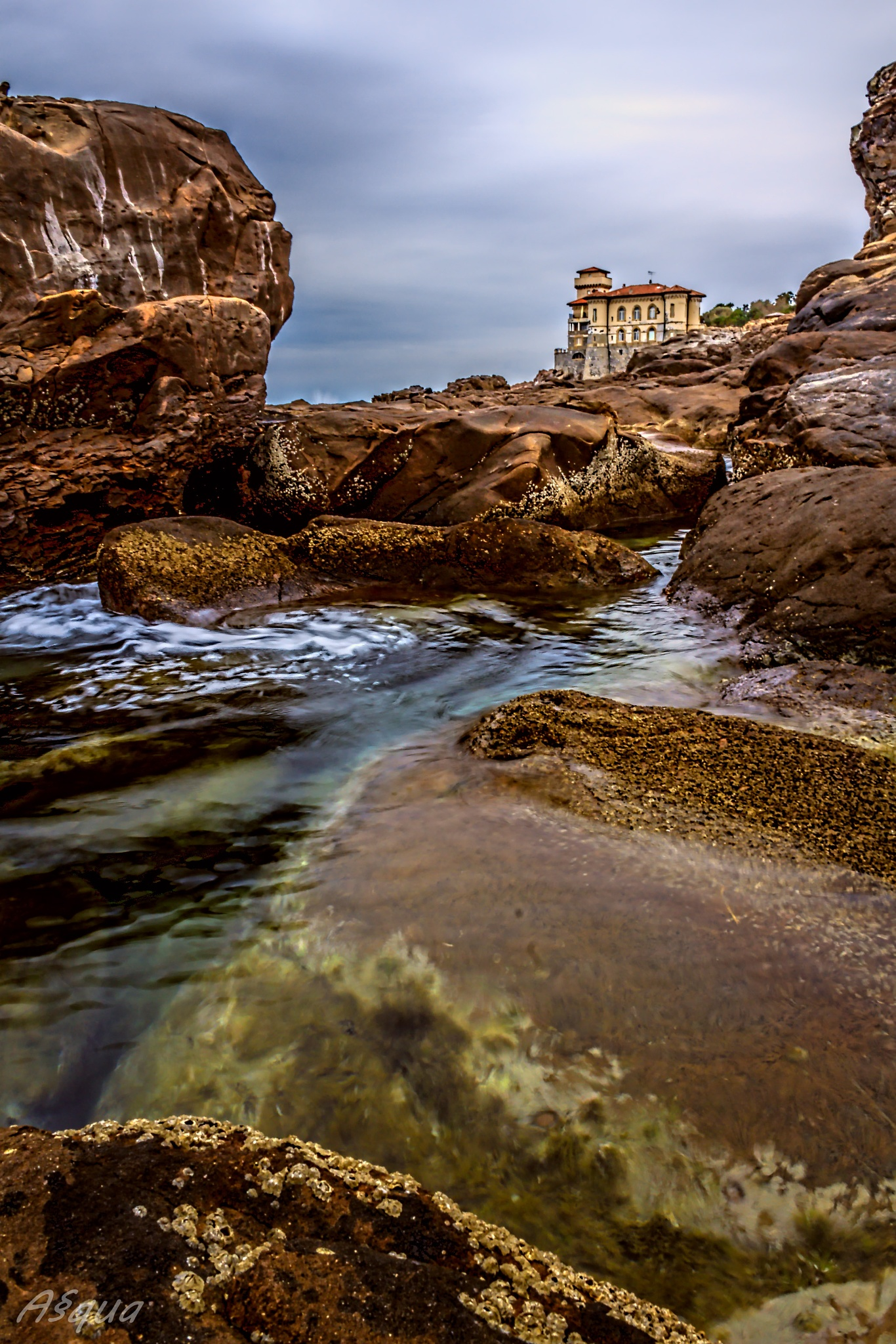 Calafuria (Livorno) by Andrea Quartieri
