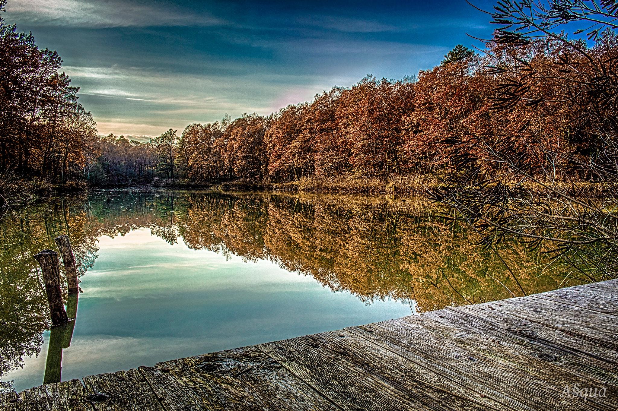 lago crocialoni by Andrea Quartieri