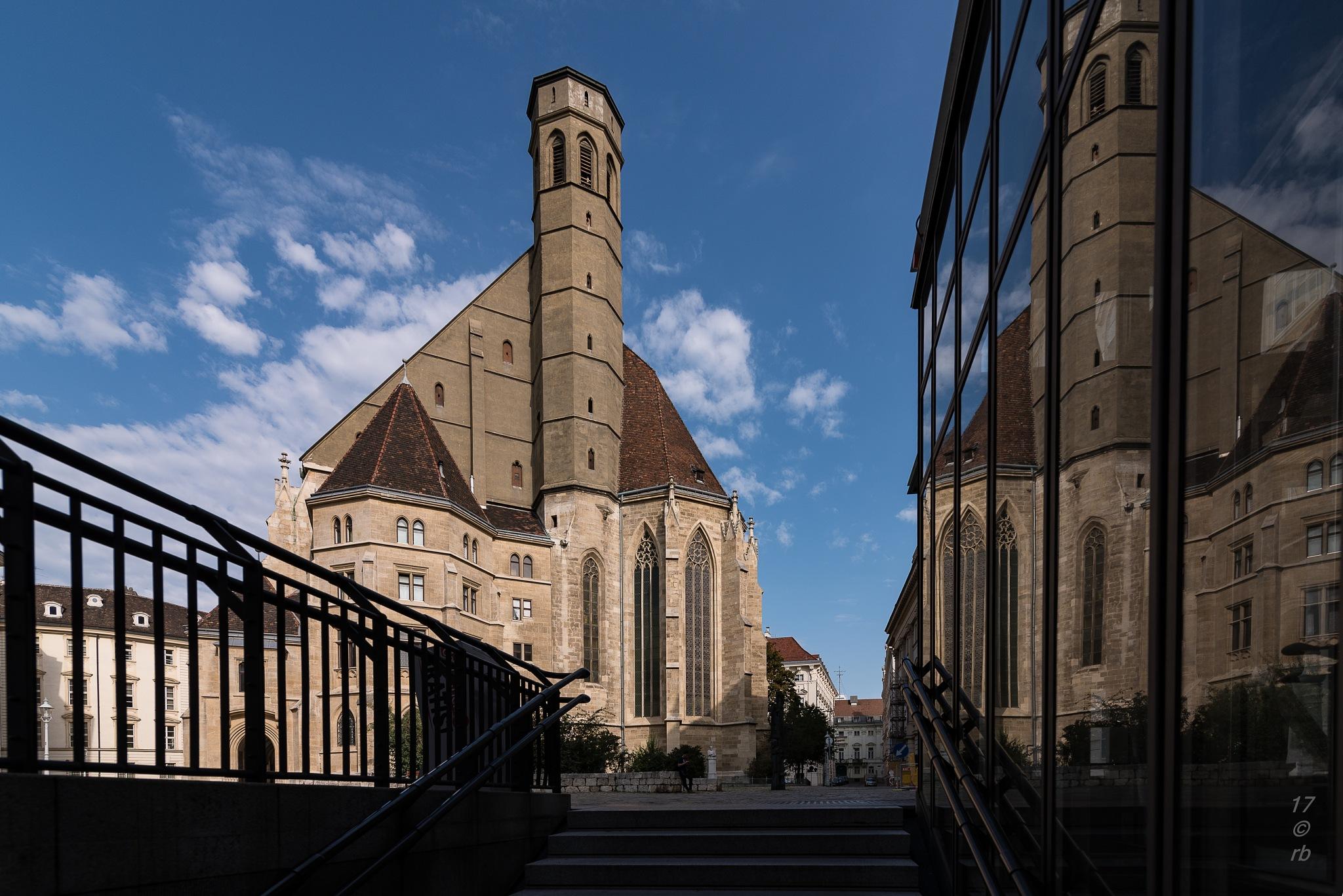 Die Minoriten Kirche by > Robert Braun <