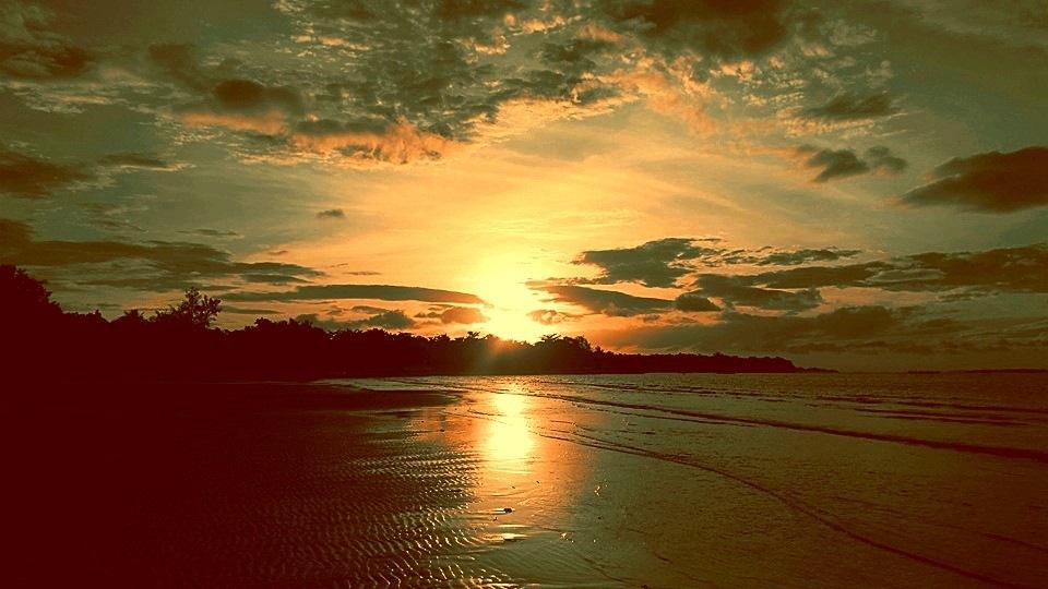 Sunrise....! by Mae Emerald